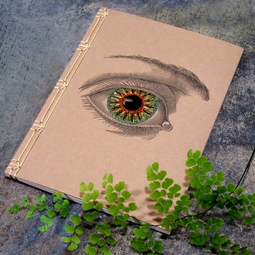 Vintage Eye Journal
