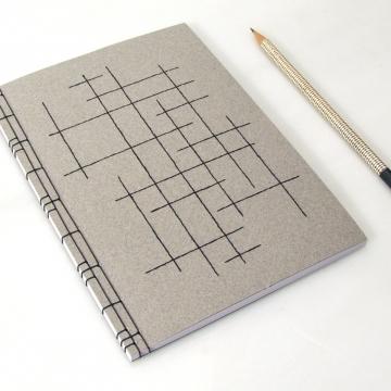 Crossing Lines Notebook