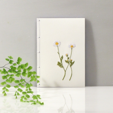 Chamomiles. Cute A6 Notebook