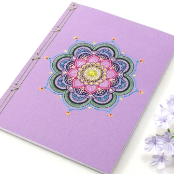 Purple Mandala Journal